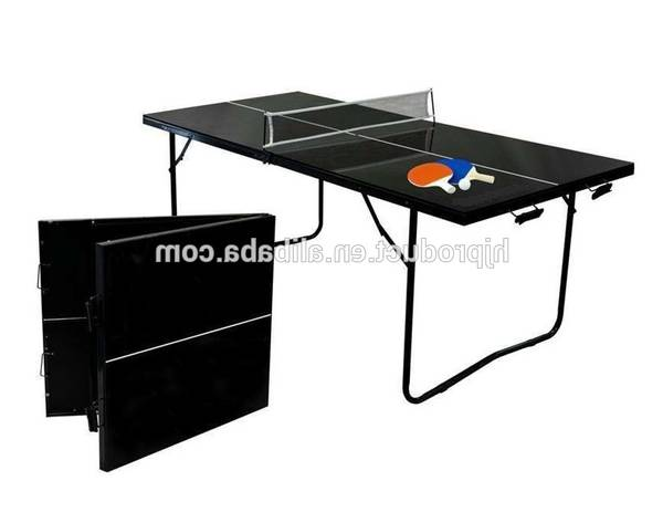 Table de ping pong manomano : cout – rare – sélection