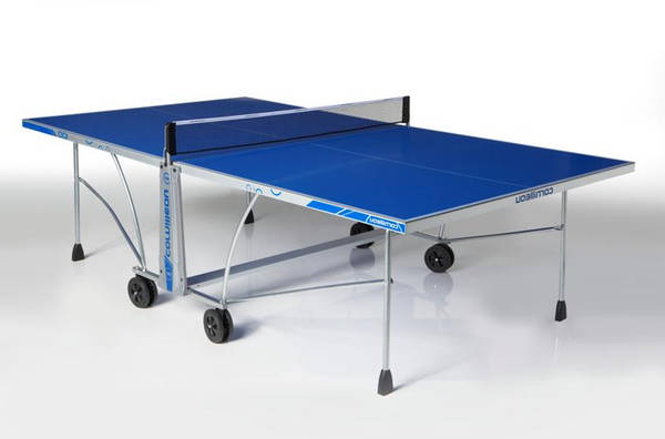 Avis client Table de ping pong 300 s outdoor gris cornilleau : demi table de ping pong