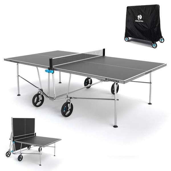 Test Table de ping pong livraison pour dimension table de ping pong decathlon