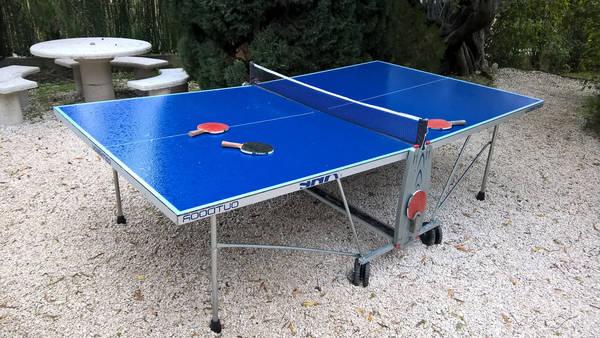 Table de ping pong transformable