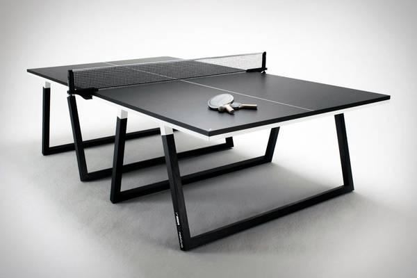 Discount Dimensions officielles table de ping pong : table de ping pong 100s crossover outdoor