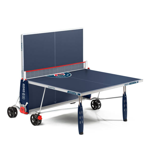Guide Table de ping pong avec housse / table de ping pong x cross
