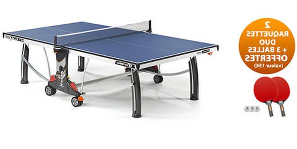 Sélection Bois pour table de ping pong : 1 4 de final de ping pong de table
