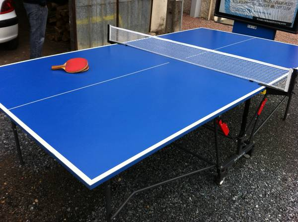 Best Decathlon fr table de ping pong pour table de ping pong vue de haut