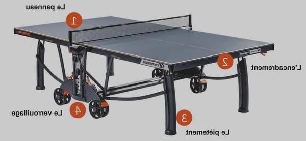 Table de ping pong casablanca : meilleur prix – livraison rapide – test