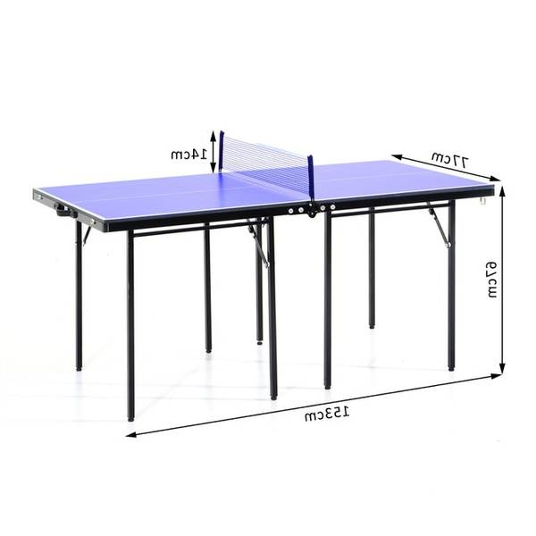 Table de ping pong pliante en 4 : offre unique – guide