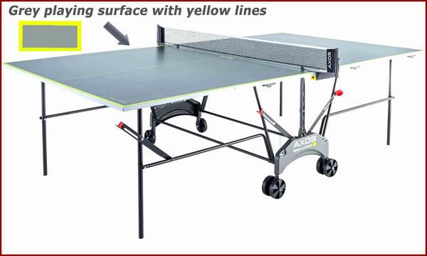 Table de ping pong pliable en 4 : prix – moderne – simple