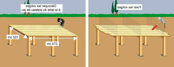 Table de ping pong gifi