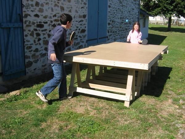 Table de free ping pong ft mini artengo