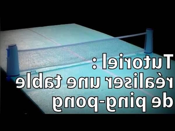 Top 10 Mini table de ping pong ou montage table de ping pong cornilleau